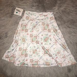NWT Lularoe Girls Azure Skirt Size 8
